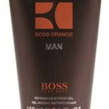 Cadeau voor heren hugo boss orange heren douchegel 150 ml