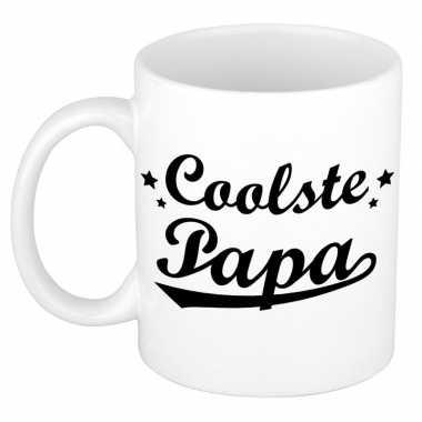 Coolste papa mok / beker voor vaderdag 300 ml