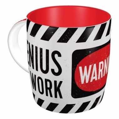 Mok warning, genius at work wit