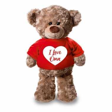 Pluche knuffel teddybeer 24 cm