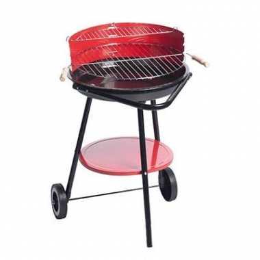 Rode barbecue van staal