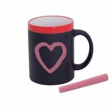 Valentijnsdag cadeaumok/kadomok met persoonlijk bericht