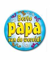 Extra grote button beste papa 10 cm